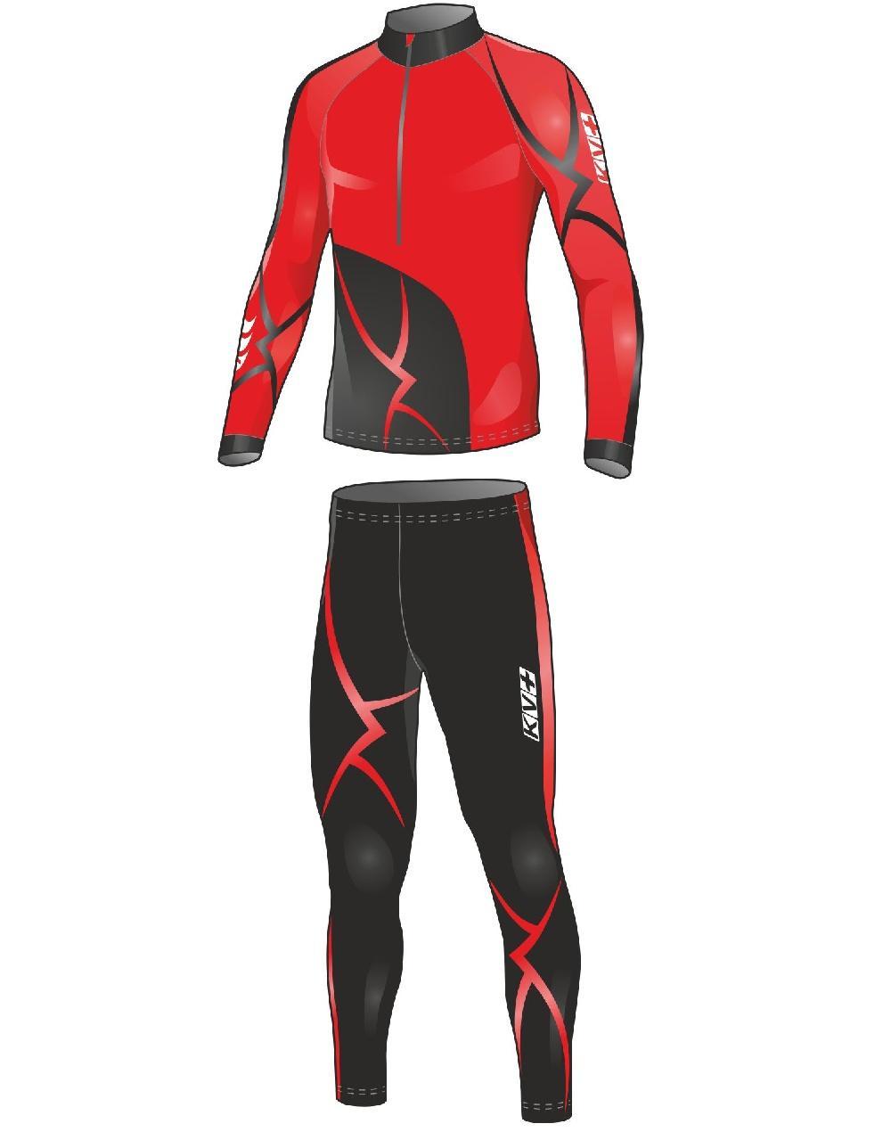 655e456d8dca СпортМир Экипцентр   Лыжи   Лыжная одежда   Комбинезоны   TRIBAL  красный-чёрный